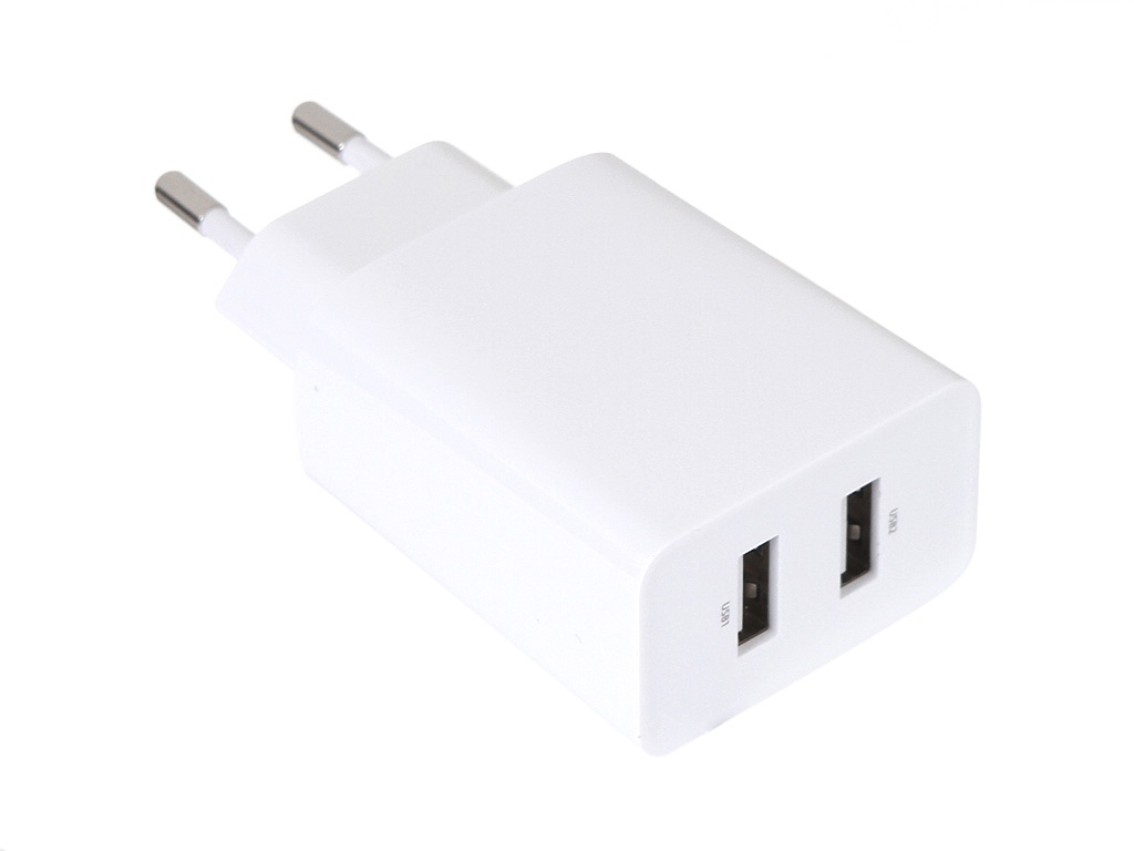 Зарядное устройство Baseus Speed Mini Dual U Charger 2xUSB 10.5W White CCFS-R02