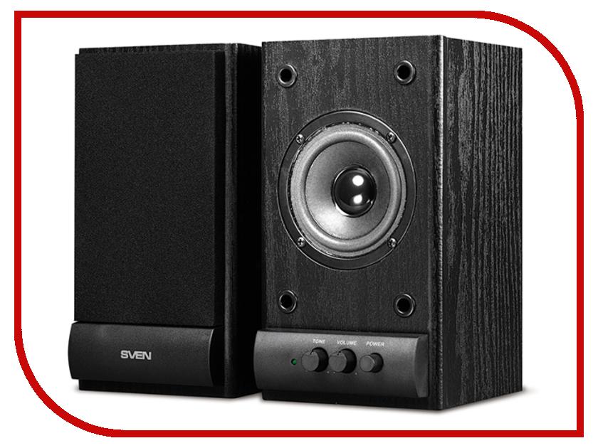 Колонка Sven SPS-607 Black SV-0120607BL купить колонки sven sps 821