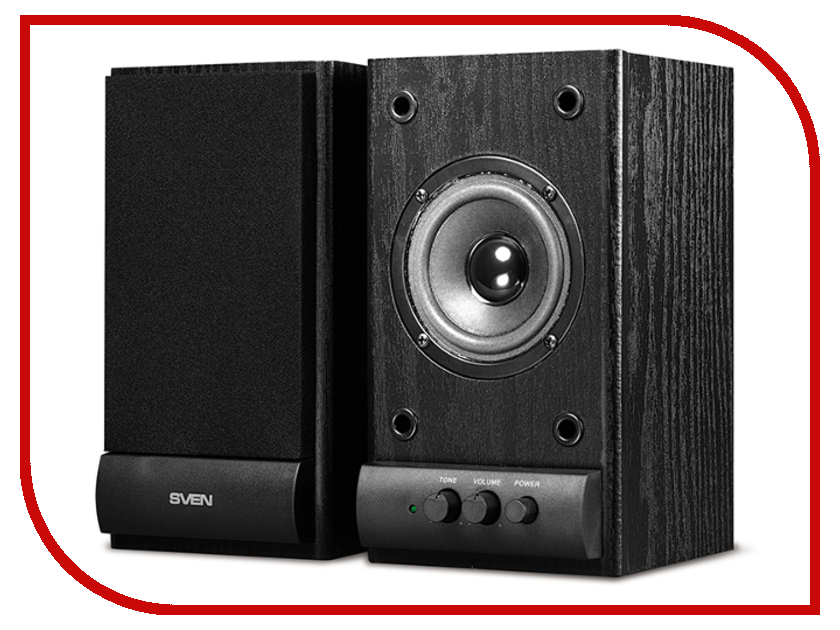 Колонка Sven SPS-607 Black SV-0120607BL колонка sven mc 10 sv 014018 black