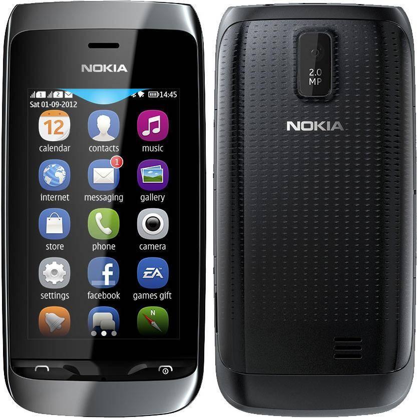 Сотовый телефон Nokia 308 Asha Black