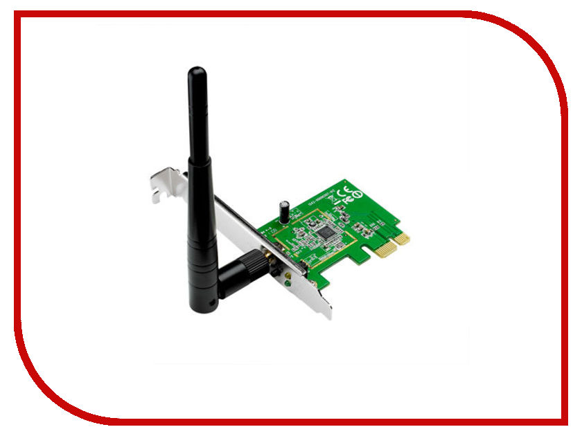 Wi-Fi адаптеры PCE-N10  Wi-Fi адаптер ASUS PCE-N10