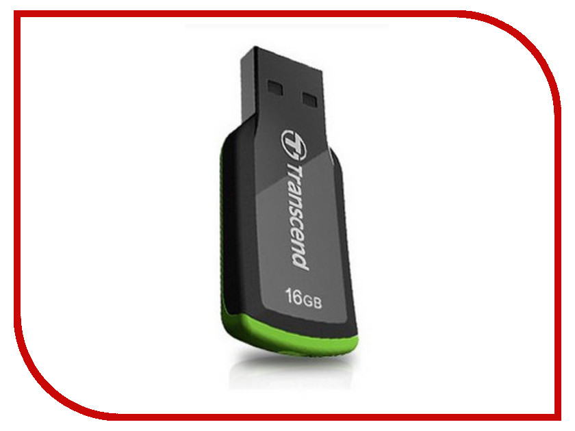USB Flash Drive 16Gb - Transcend FlashDrive JetFlash 360 TS16GJF360<br>