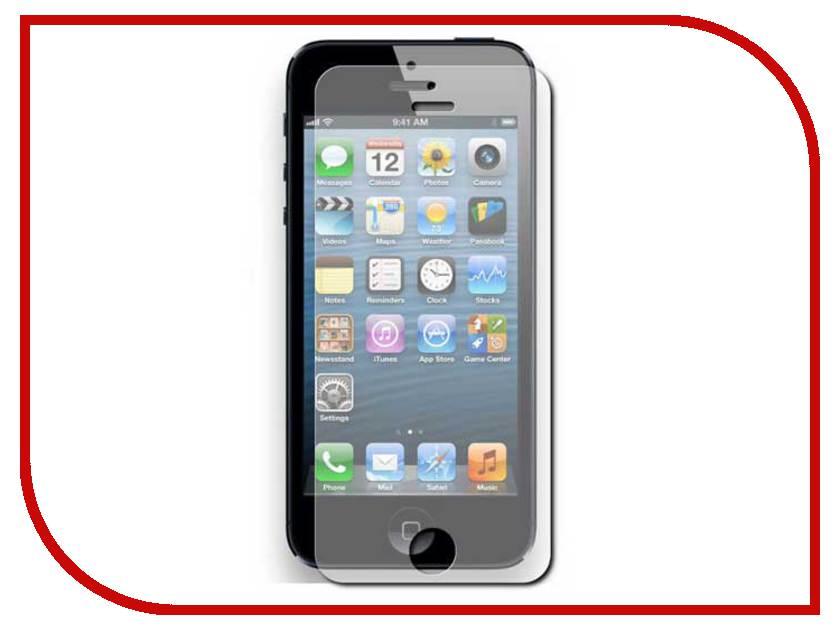 Аксессуар Защитная пленка Ainy для iPhone 5 глянцевая аксессуар защитная пленка alcatel onetouch pop d5 5038d media gadget premium антибликовая mg997