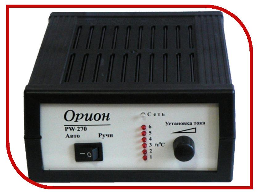 зарядные / пуско-зарядные устройства/аккумуляторы (для авто) PW-270  Устройство Орион PW-270