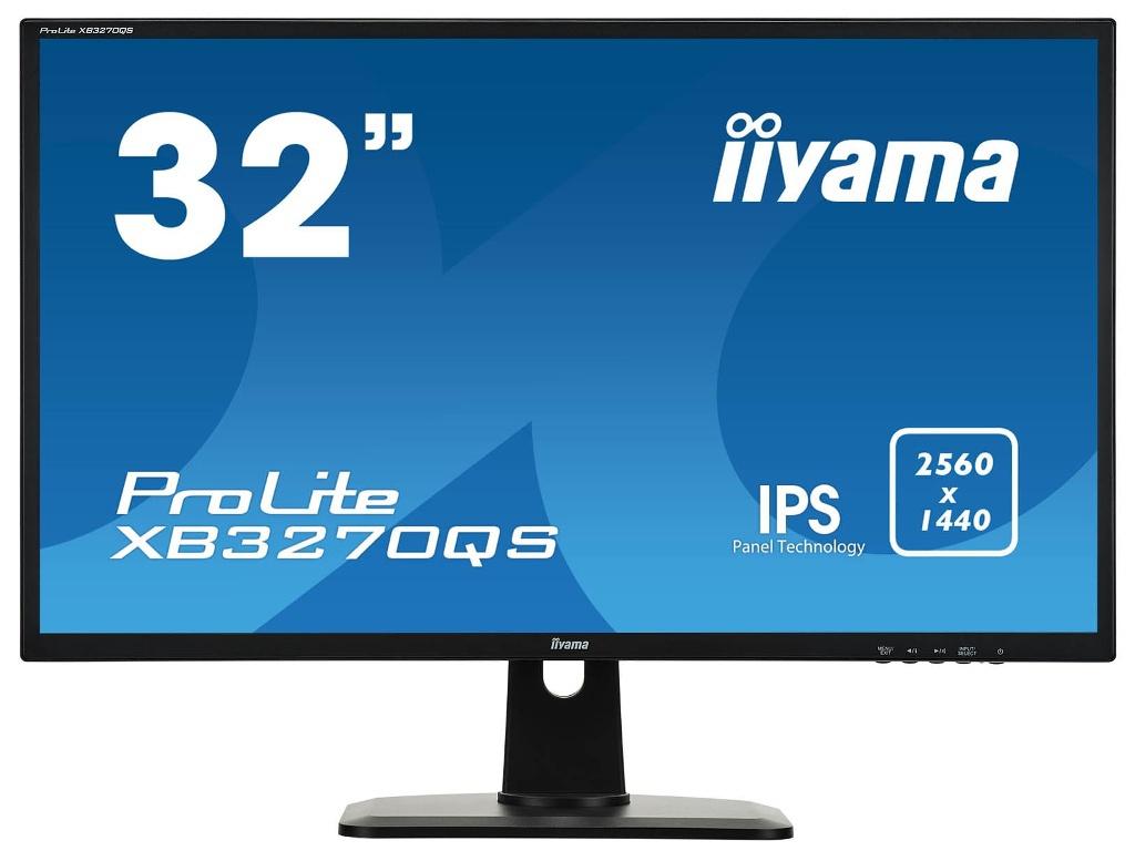 Фото - Монитор Iiyama ProLite XB3270QS-B1 Black Выгодный набор + серт. 200Р!!! монитор iiyama prolite xb3270qs b1 31 5 черный