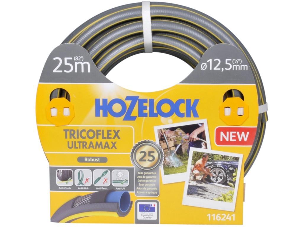 Шланг Hozelock 116241 Tricoflex Ultramax 1/2 25m