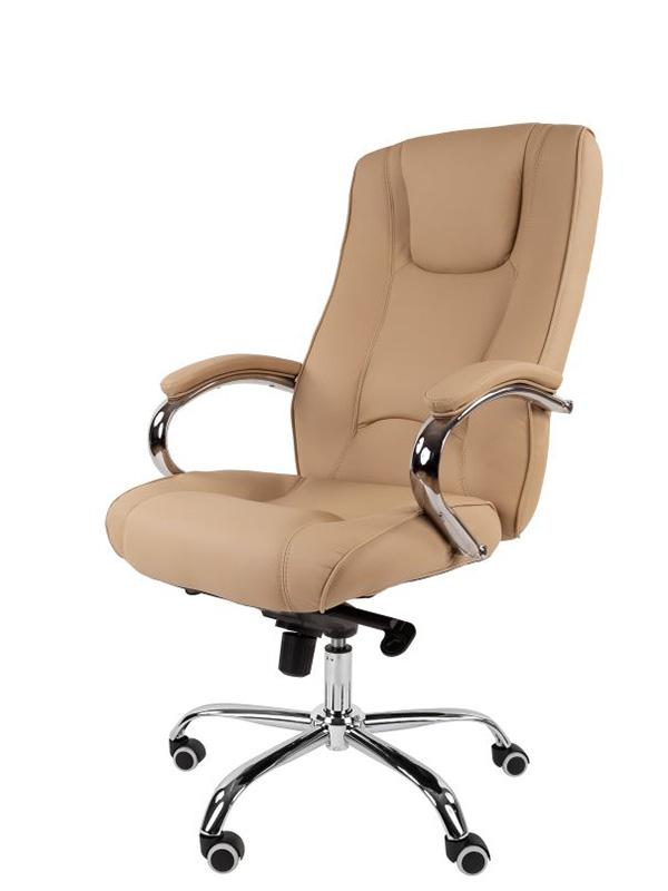 Компьютерное кресло Русские кресла РК 100 PU Люкс Chrome Beige