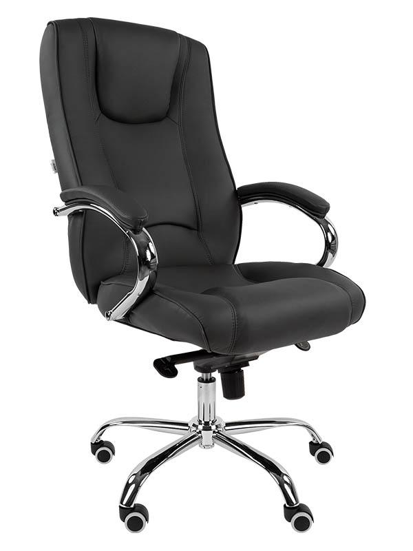 Компьютерное кресло Русские кресла РК 100 PU Chrome Grey