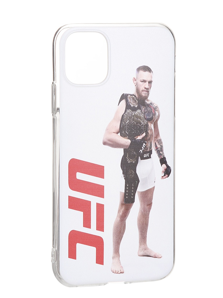 Чехол Red Line для APPLE iPhone 11 UFC дизайн №14 Transparent УТ000019842