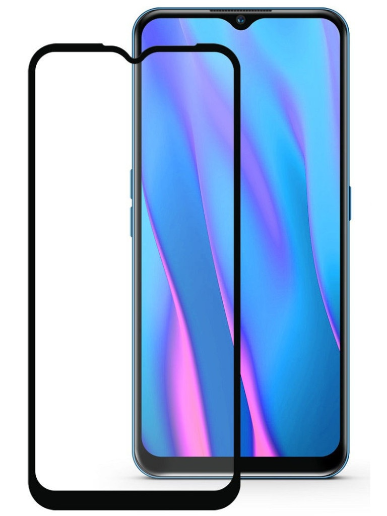 Защитный экран Red Line для Oppo A9 2020 Full Screen Tempered Glass Glue Black УТ000019676