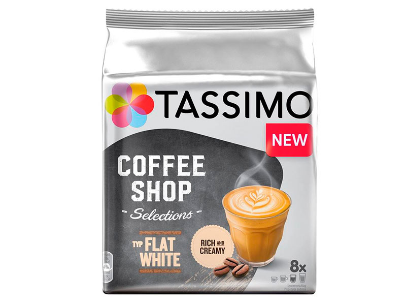 Капсулы Tassimo Flat White