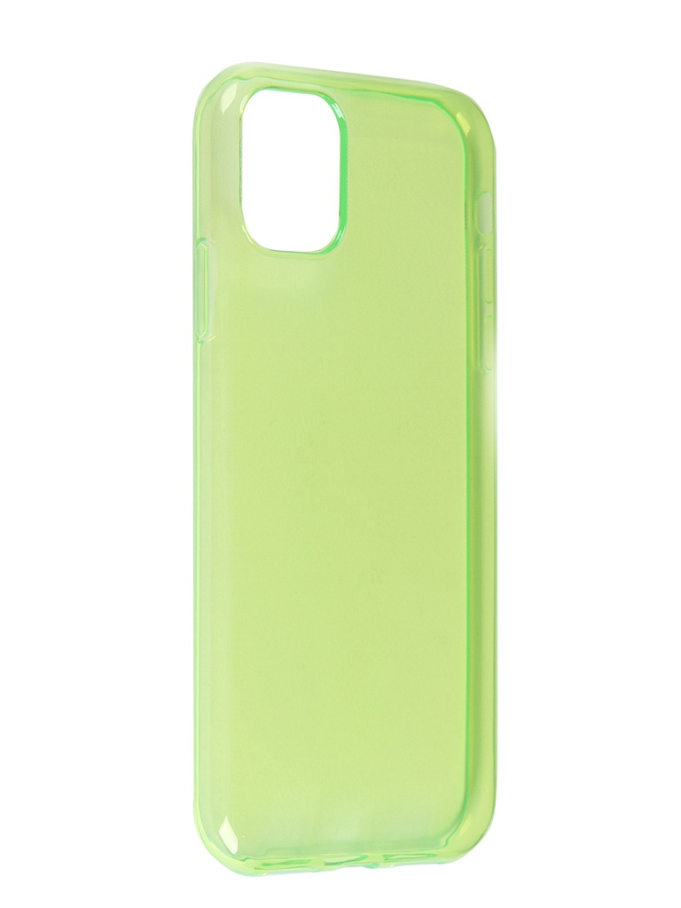 Чехол iBox для APPLE iPhone 11 Crystal Silicone Neon Green УТ000019738