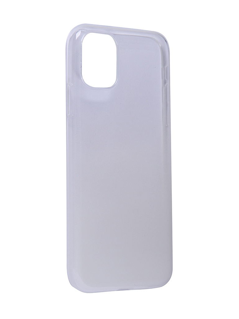 Чехол iBox для APPLE iPhone 11 Crystal Silicone Gradient White УТ000019743