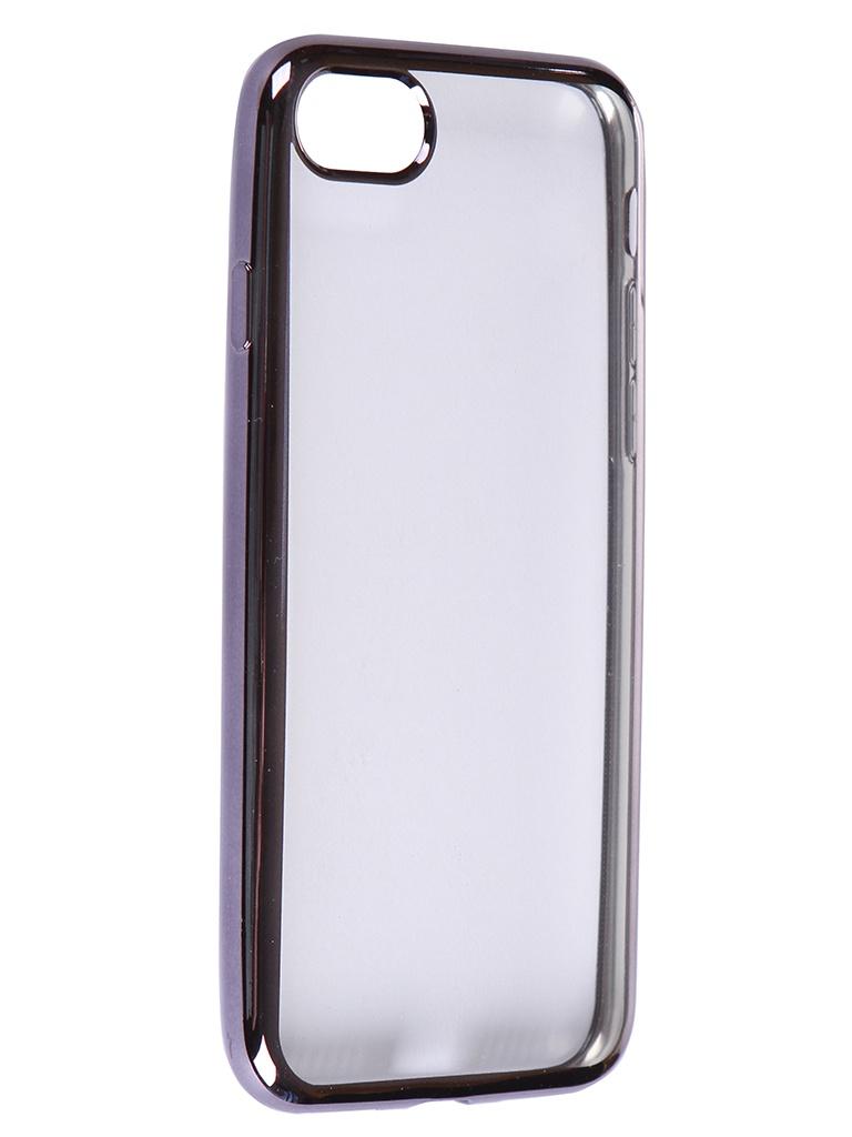 Чехол iBox для APPLE iPhone SE 2020 / 8 Blaze Silicone Black Frame УТ000020991