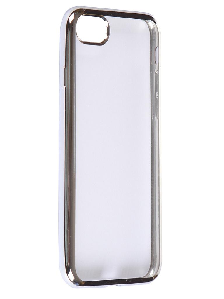 Чехол iBox для APPLE iPhone SE 2020 / 8 Blaze Silicone Silver Frame УТ000020990