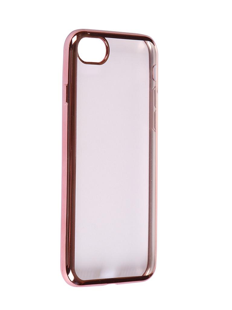 Чехол iBox для APPLE iPhone SE 2020 / 8 Blaze Silicone Pink Frame УТ000020989