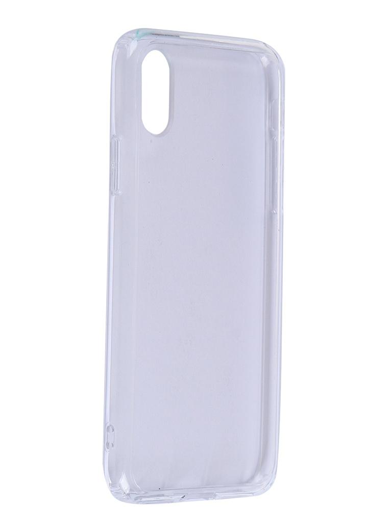 Чехол iBox для APPLE iPhone X / XS Blaze Silicone Transparent Frame УТ000020833