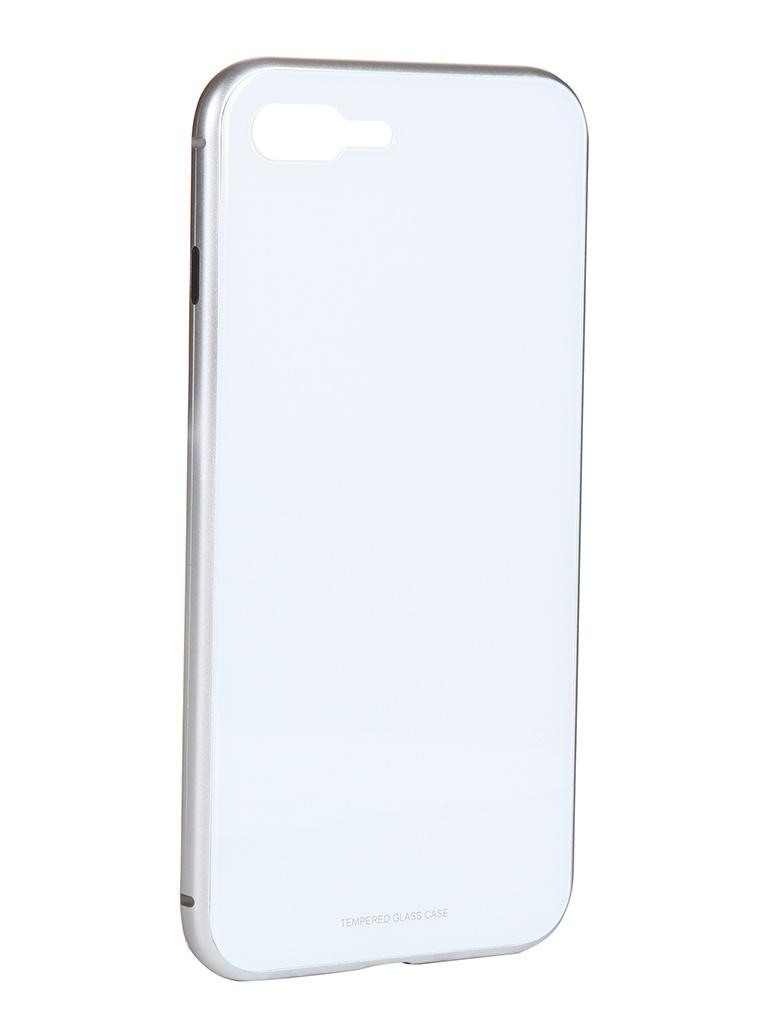 Чехол iBox для APPLE iPhone SE 2020 / 8 Plus Magnetic White УТ000020801
