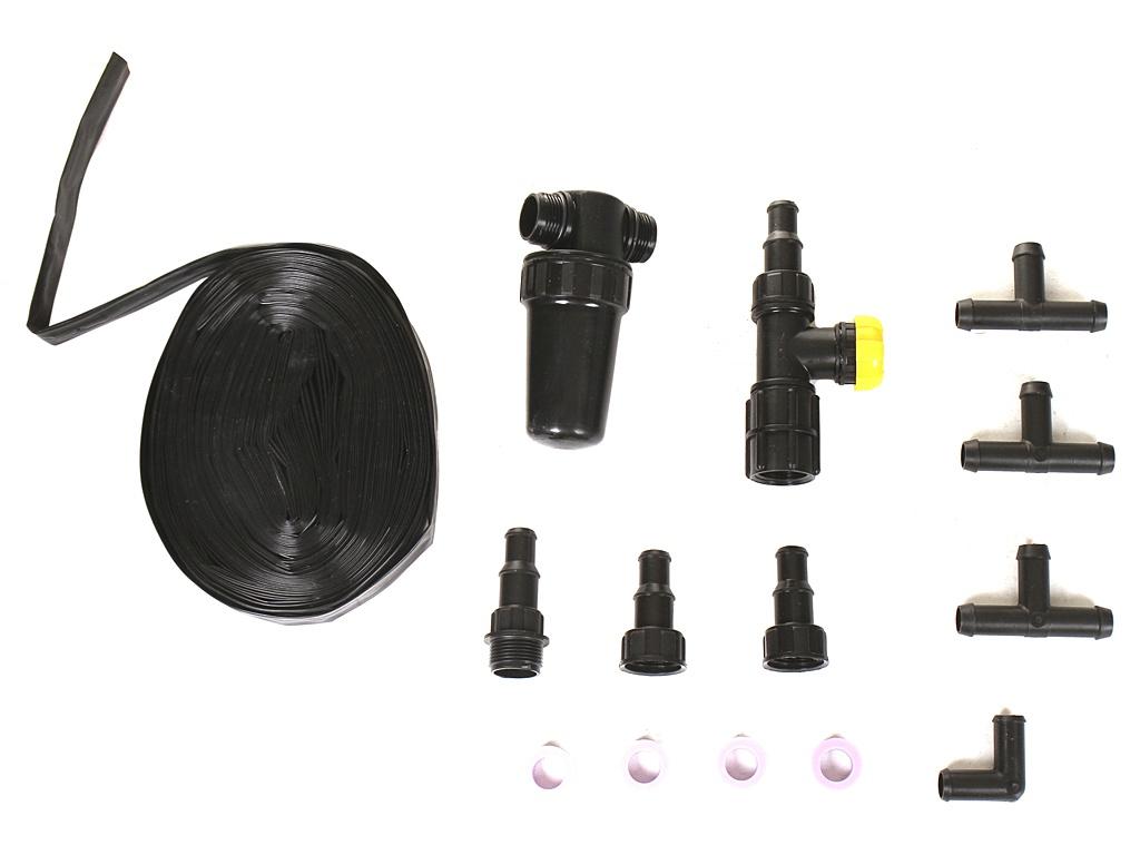 Комплект капельного полива с контроллером Исток КПК-24К