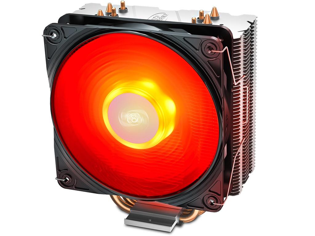 цена на Кулер DeepCool Gammaxx 400 V2 Red (Intel LGA1151/1150/1155/1366 AMD AM4/AM3+/AM3/AM2+/AM2/FM2+/FM2/FM1)