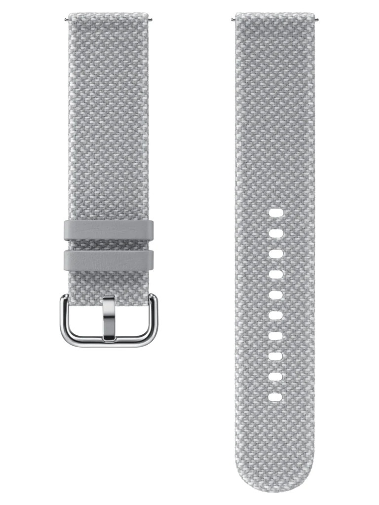 Аксессуар Ремешок для Samsung Galaxy Active Kvadrat Band Grey ET-SKR82MJEGRU