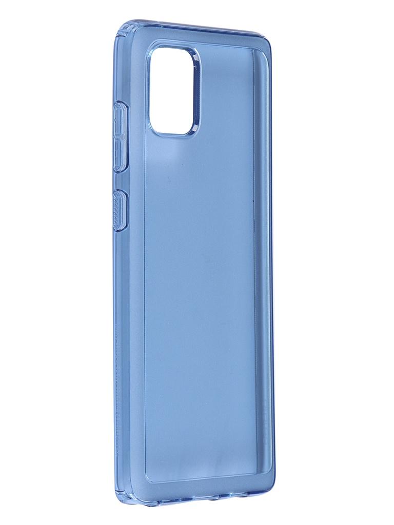 Чехол Araree для Samsung Galaxy Note 10 Lite N Cover Blue GP-FPN770KDALR чехол araree для samsung galaxy note 10 lite n cover black gp fpn770kdabr