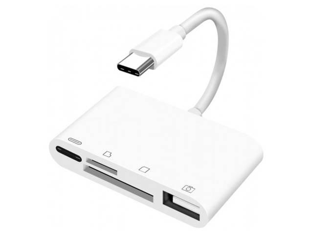 Фото - Карт-ридер KS-is USB-C 4 в 1 KS-399 a murder is announced