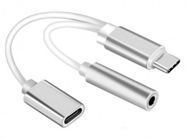 Аксессуар KS-is USB Type-C - AUX KS-391