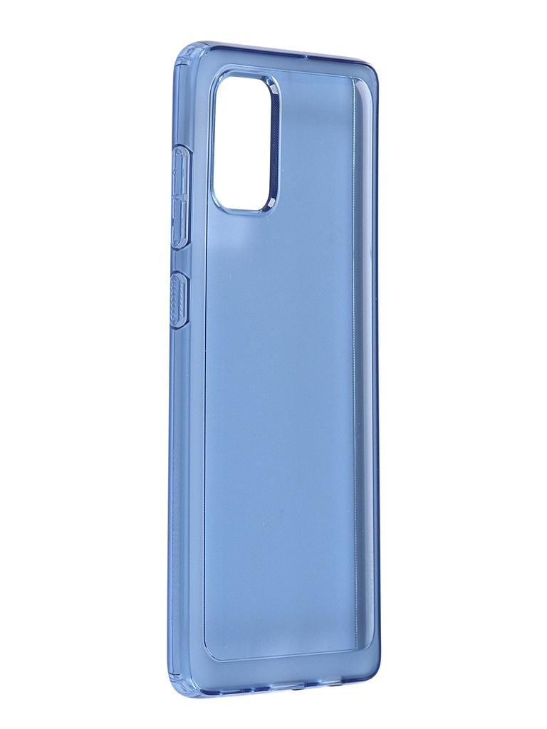 Чехол Araree для Samsung Galaxy A71 A715 BackCover Blue GP-FPA715KDALR чехол клип кейс samsung для samsung galaxy a71 araree a cover синий gp fpa715kdalr