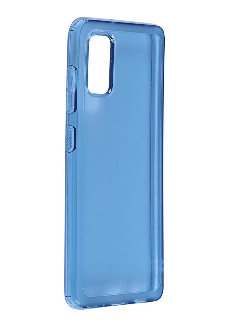 Чехол Araree для Samsung Galaxy A41 A415 BackCover Blue GP-FPA415KDALR