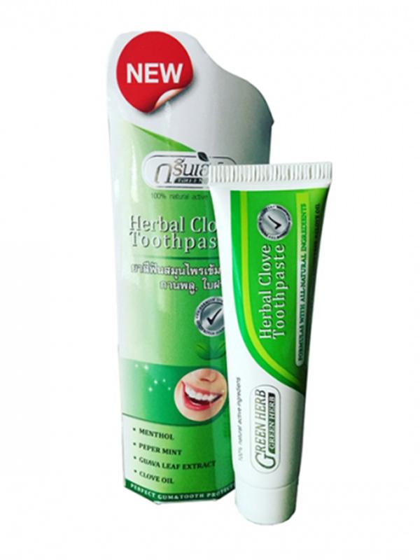 Зубная паста Green Herb Herbal Toothpaste 30g 0612