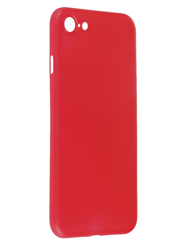 Чехол iBox для APPLE iPhone SE (2020) / 8 UltraSlim Red УТ000020911