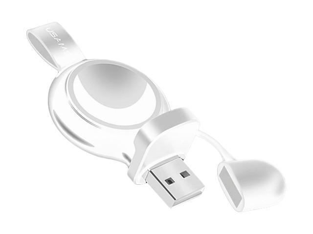 Зарядное устройство Usams US-CC061 для Apple Watch White аксессуар usams us cc076 2 in 1 lightning apple watch