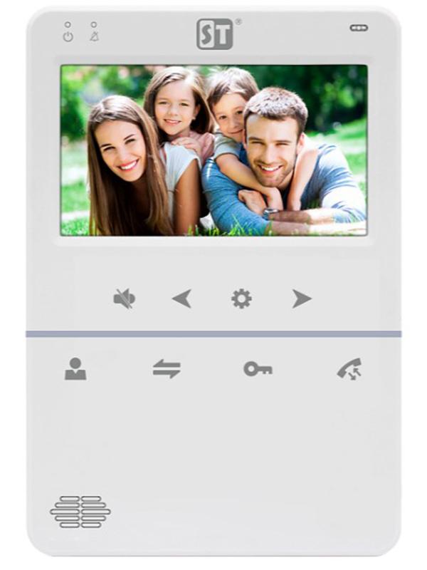 Видеодомофон Space Technology ST-M100/4 (S) White