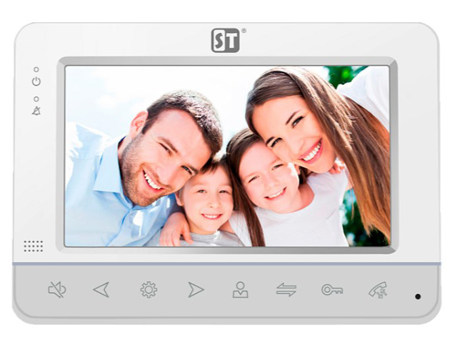 Видеодомофон Space Technology ST-M100/7 (S) White