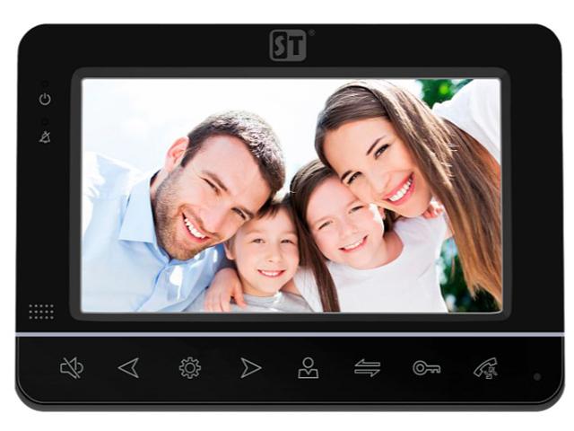 Видеодомофон Space Technology ST-M101/7 (S/SD) Black