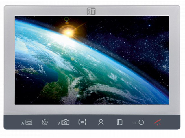 Видеодомофон Space Technology ST-M201/7 (S/SD) White