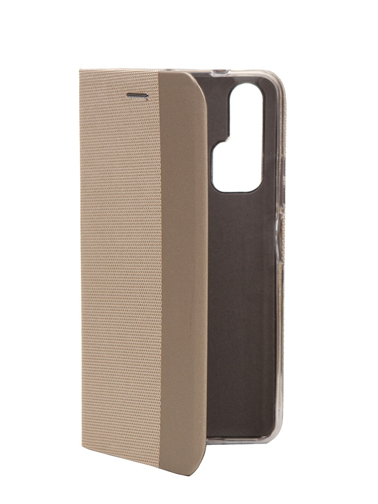 Чехол Fono для Honor 20 Pro Folio Case Gold 02600