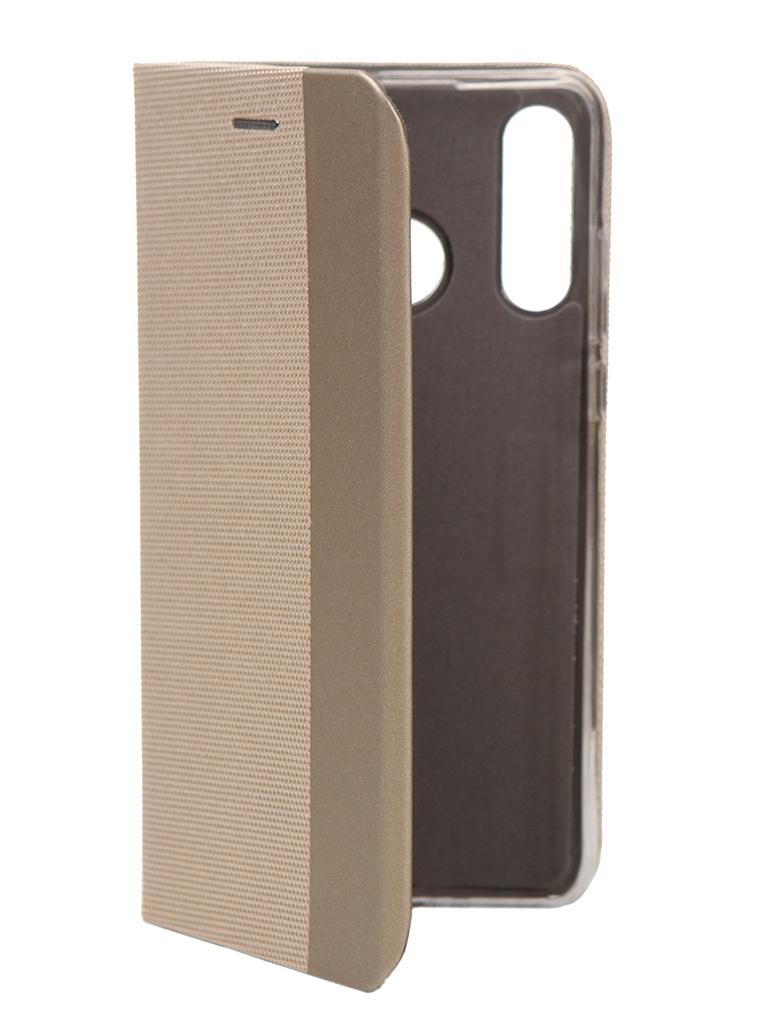 Чехол Fono для Huawei P30 Lite Folio Case Gold 10446G