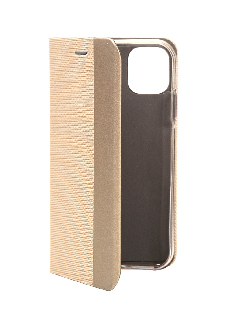 Чехол Fono для APPLE iPhone 11 Folio Case Gold 02467