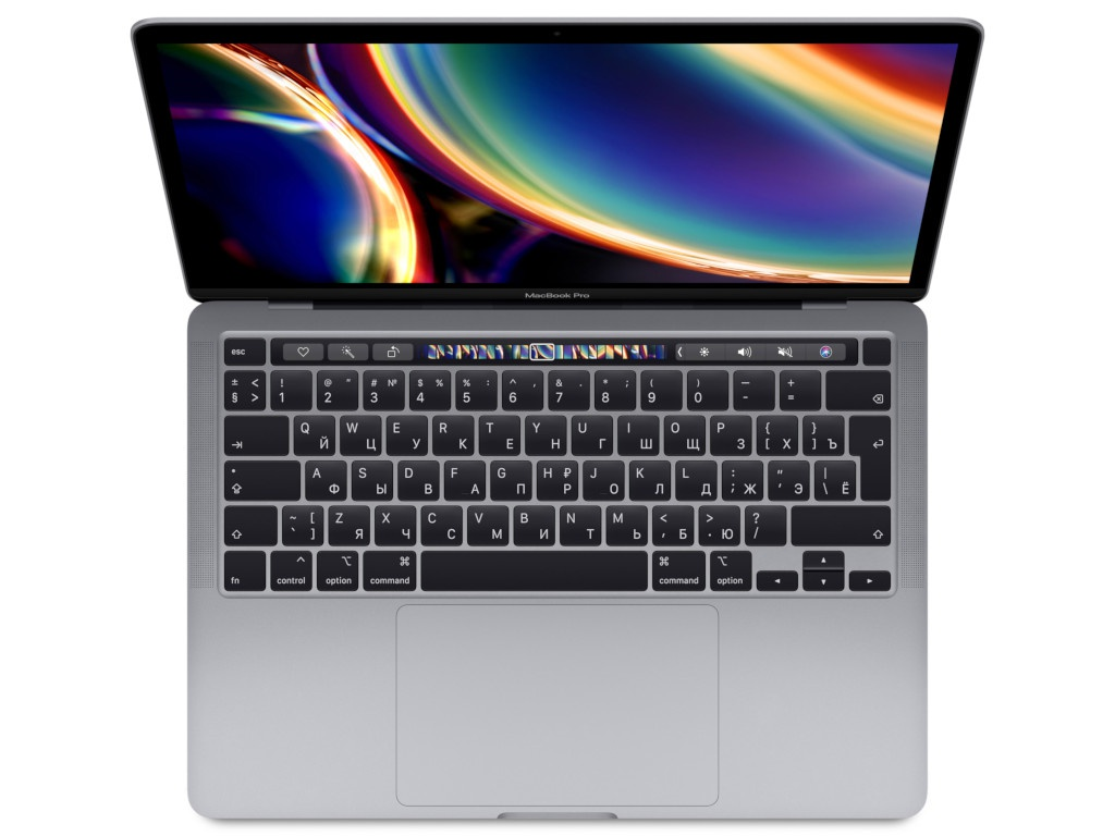 Ноутбук APPLE MacBook Pro 13 2020 MXK52RU/A Space Grey (Intel Core i5 1.4 GHz/8192Mb/512Gb SSD/Intel Iris Plus Graphics/Wi-Fi/Bluetooth/Cam/13.3/2560x1600/Mac OS)