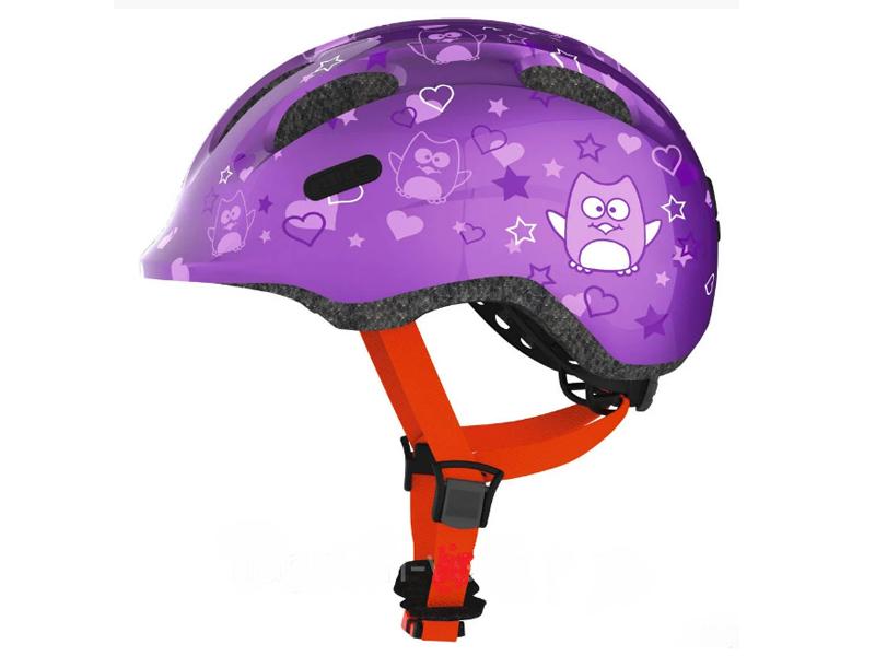 Шлем Abus Smiley 2.0 S (45-50) Purple Stars