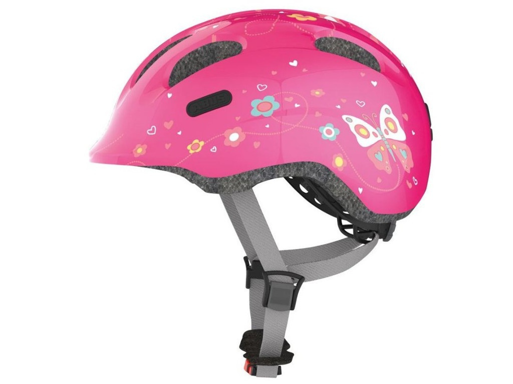 Шлем Abus Smiley 2.0 M (50-55) Pink Butterflies