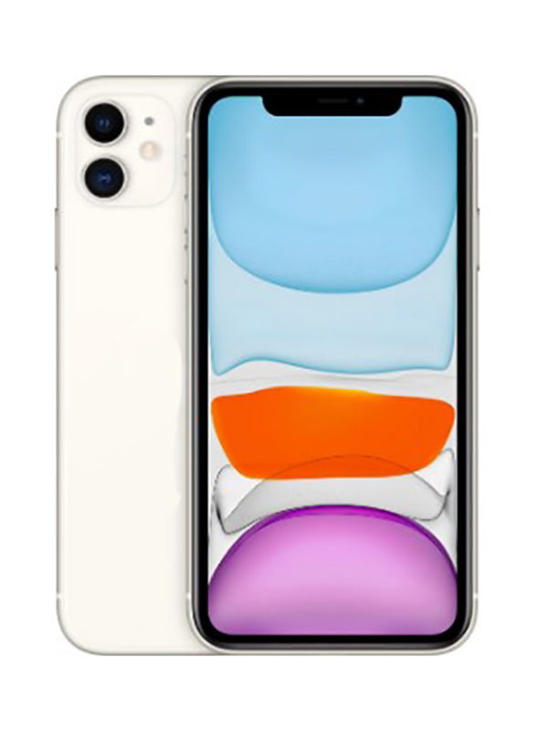 Сотовый телефон APPLE iPhone 11 - 64Gb White MWLU2RU/A Мега Выгодный набор + серт. 200Р!!! сотовый