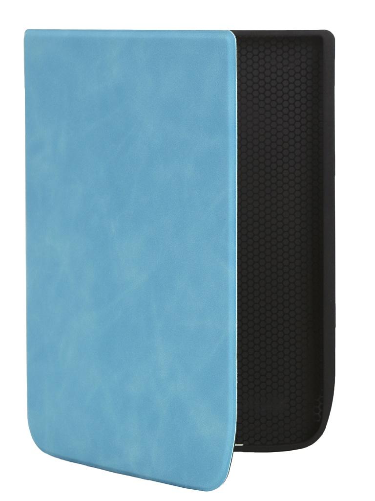 Аксессуар Чехол BookCase для Pocketbook 740 Soft Light Blue BC-PB740-SF-BLU