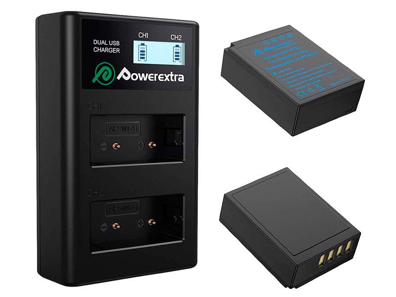 Аккумулятор Powerextra NP-W126 + зарядное устройство 18498
