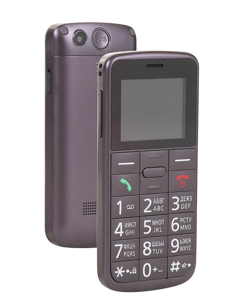 Сотовый телефон Panasonic KX-TU110RU Violet сотовый