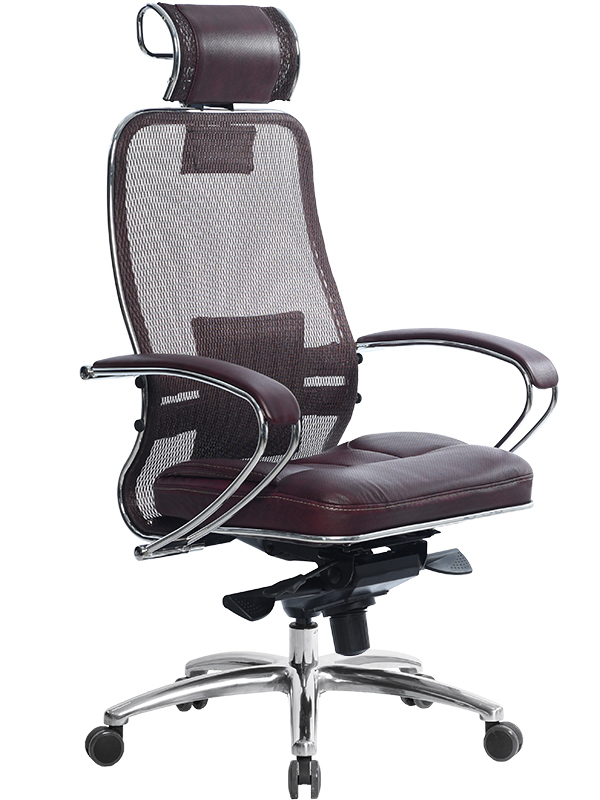 Компьютерное кресло Метта Samurai SL-2.03 Dark Bordo