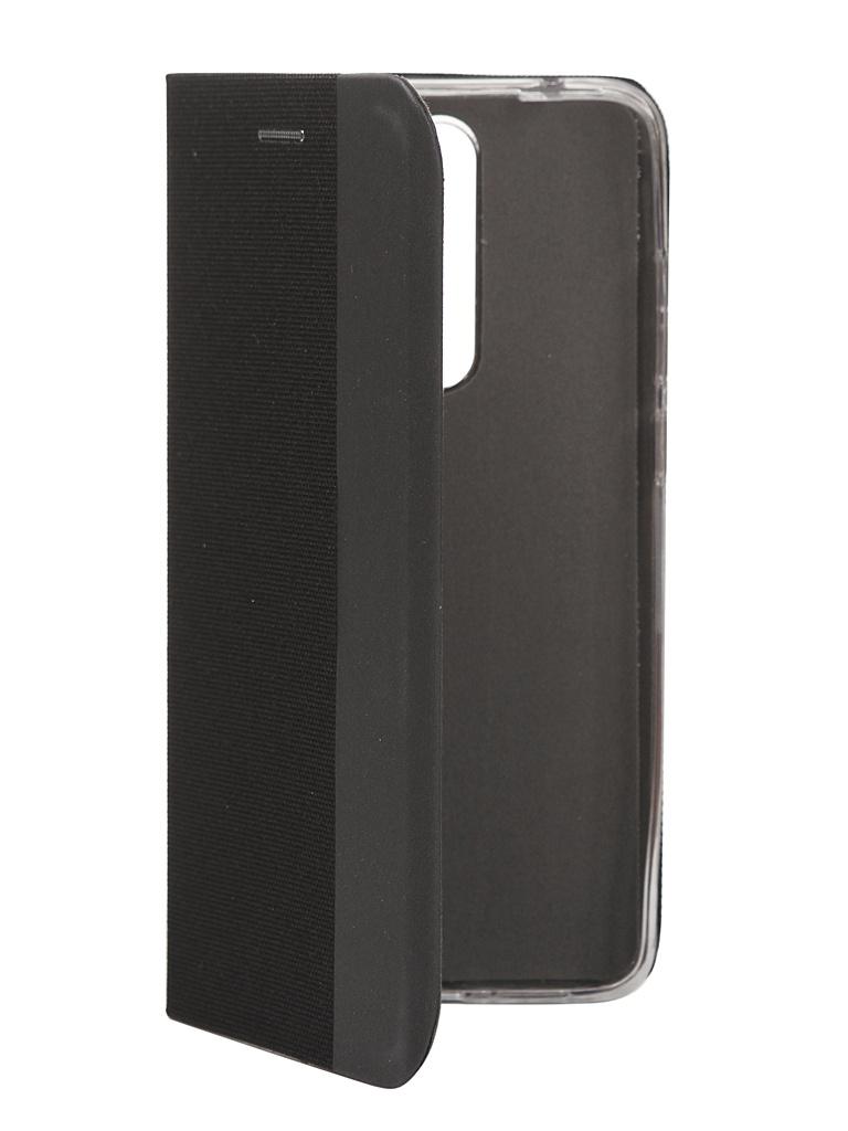 Чехол Fono для Xiaomi Redmi Note 8 Pro Folio Case Black 9960