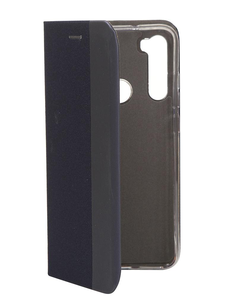 Чехол Fono для Xiaomi Redmi Note 8 Folio Case Blue 2183